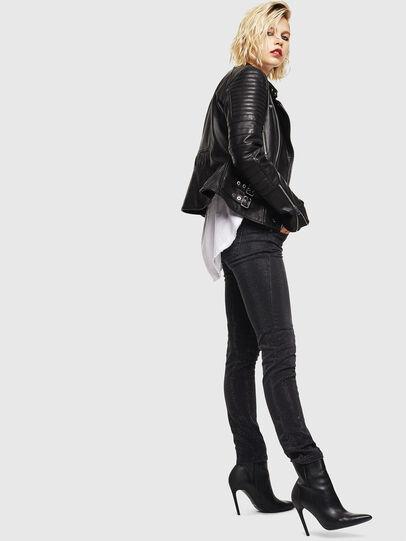 Diesel - D-Ollies JoggJeans 0093H, Black/Dark grey - Jeans - Image 7