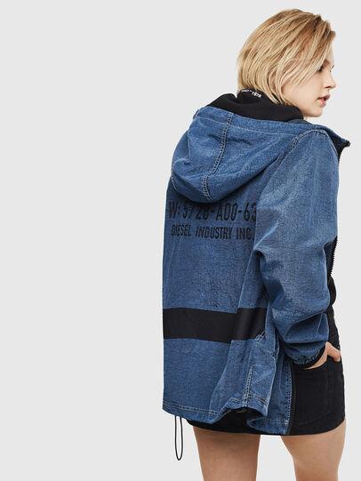 Diesel - J-HEADIN, Blue - Jackets - Image 4