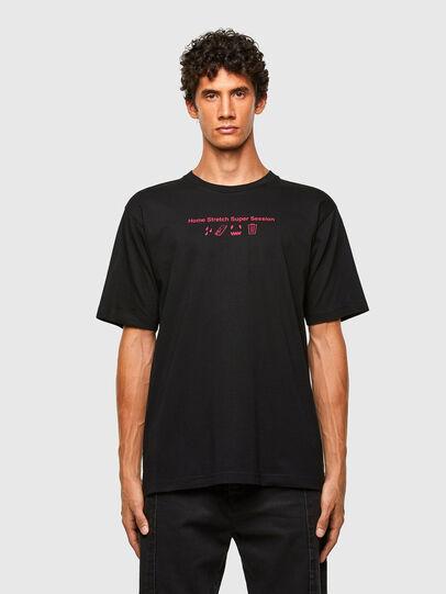 Diesel - T-TUBOLAR-N3, Black - T-Shirts - Image 1