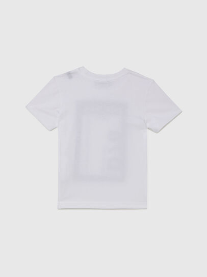 Diesel - TFULL78B-R, White - T-shirts and Tops - Image 2