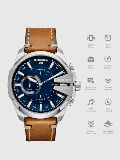 Diesel - DT1009, Brown - Smartwatches - Image 1