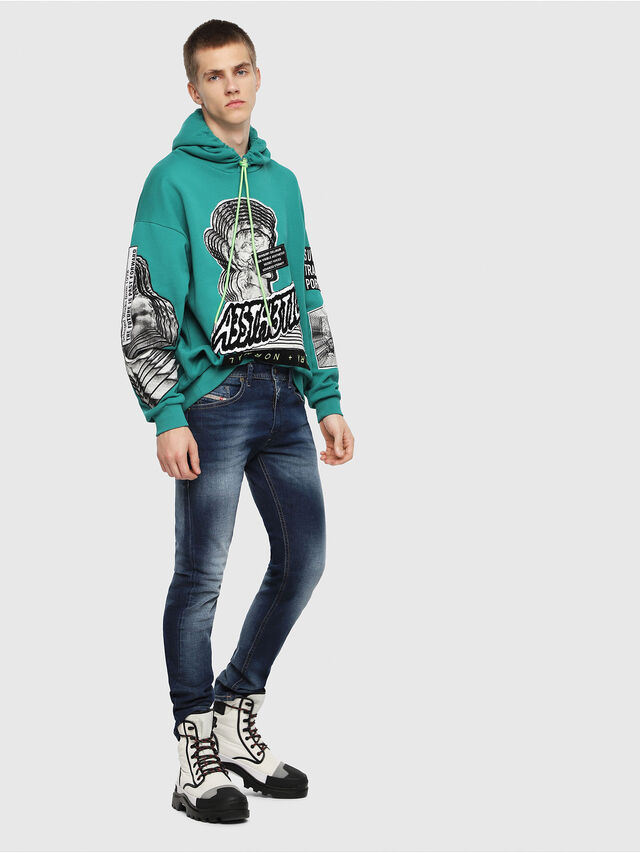 Diesel - Thommer 084GR, Medium blue - Jeans - Image 4