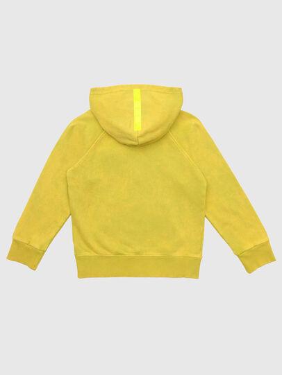 Diesel - SGIMHOODZIP, Yellow - Sweaters - Image 2