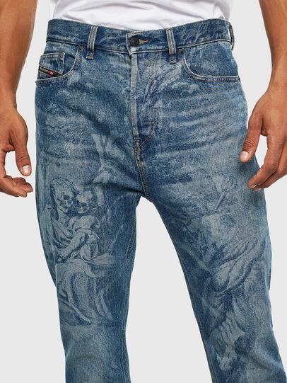 Diesel - D-Vider 0079D, Medium blue - Jeans - Image 3