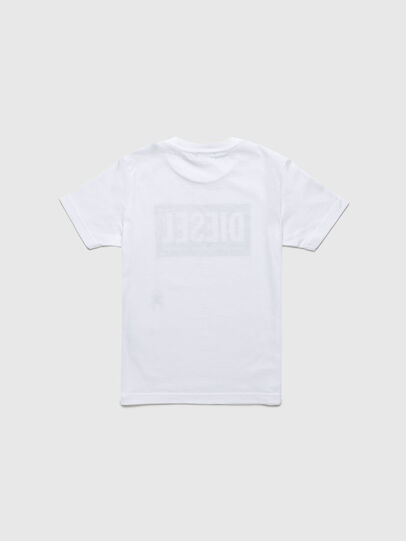 Diesel - TJUSTLOGOB-R, White - T-shirts and Tops - Image 2