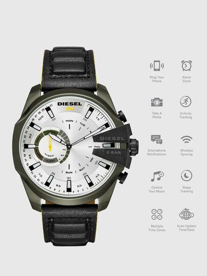 Diesel - DT1012, Black - Smartwatches - Image 1