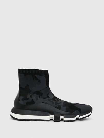 Diesel - H-PADOLA HIGH SOCK, Black - Sneakers - Image 1