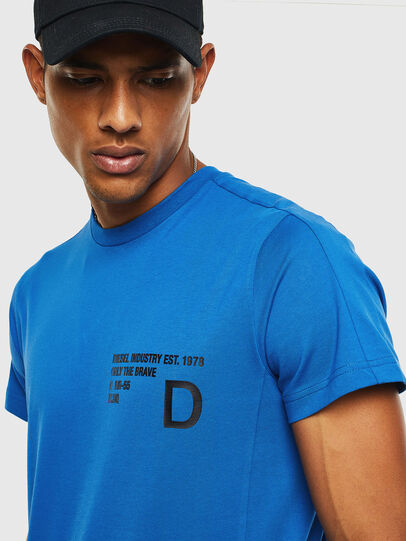 Diesel - T-HOVER, Blue - T-Shirts - Image 3