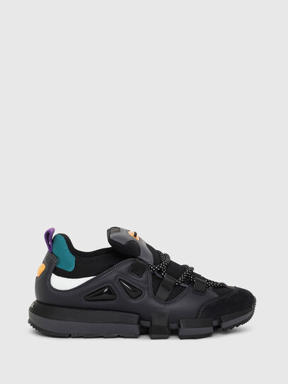 Diesel - H-PADOLA LOW S, Black - Sneakers - Image 1