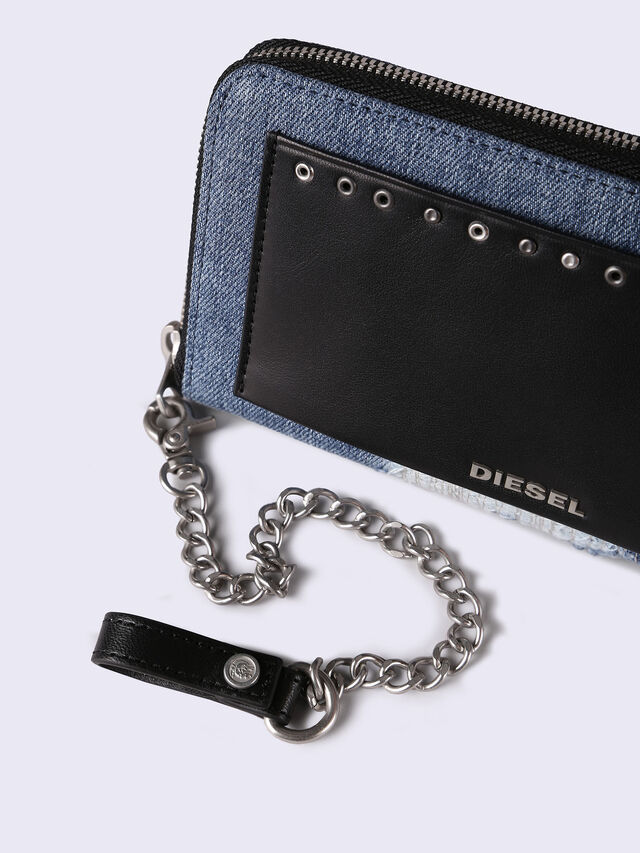 24 ZIP WITH CHAIN, Light Blue