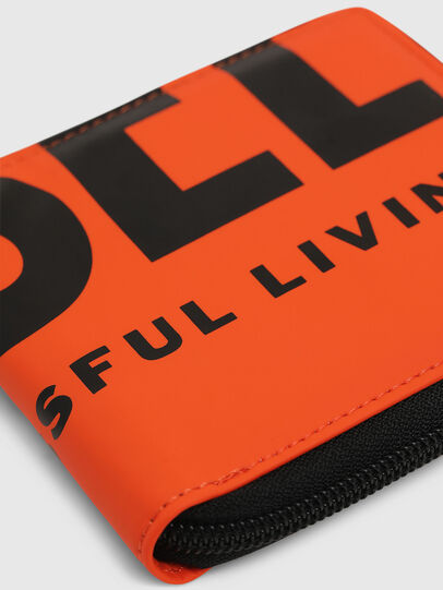 Diesel - ZIPPY HIRESH S, Orange - Zip-Round Wallets - Image 4