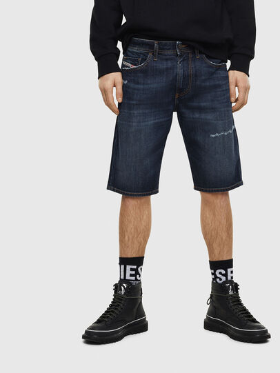 Diesel - THOSHORT, Dark Blue - Shorts - Image 1