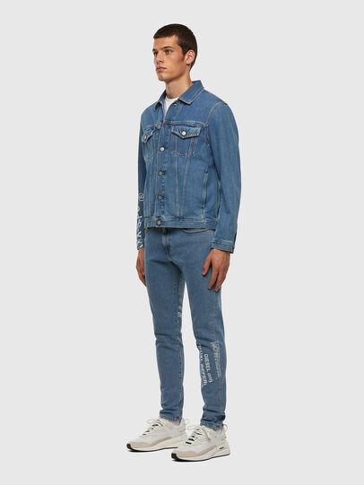 Diesel - D-Strukt 009DX, Light Blue - Jeans - Image 7