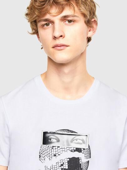 Diesel - T-INO, White - T-Shirts - Image 3
