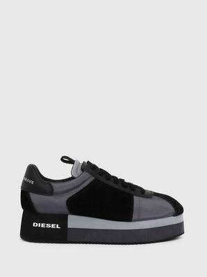 S-PYAVE WEDGE, Blue/Black - Sneakers