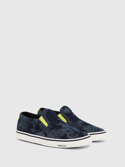 Diesel - SN SLIP ON 01 LC CH, Blue - Footwear - Image 2