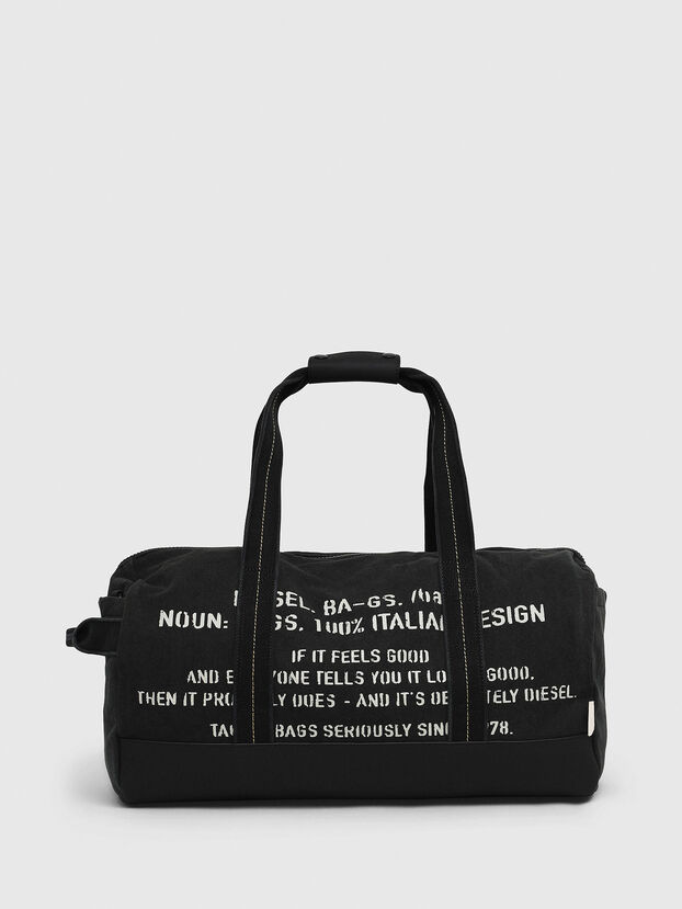 D-THISBAG TRAVEL BAG, Black - Travel Bags