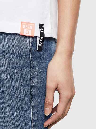 Diesel - T-SILY-S8, White - T-Shirts - Image 5