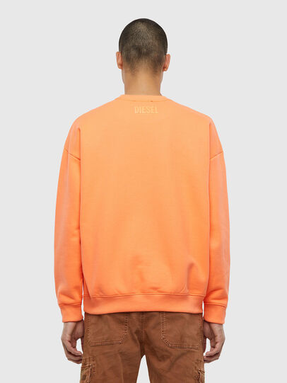 Diesel - S-MART-FLU, Orange - Sweaters - Image 2
