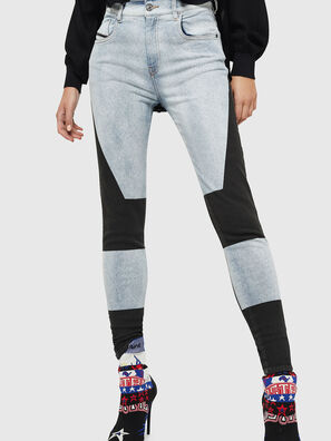 Slandy High 0890M, Light Blue - Jeans