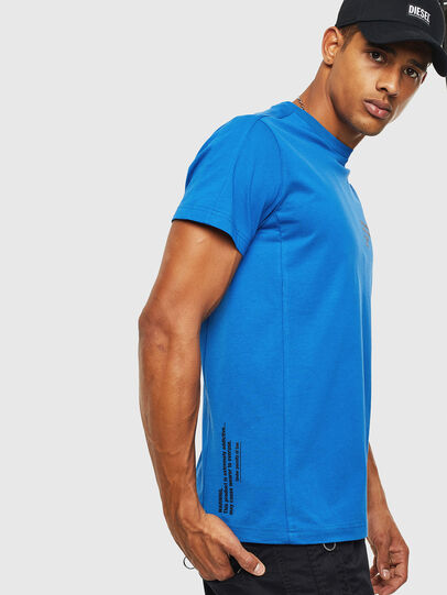 Diesel - T-HOVER, Blue - T-Shirts - Image 4