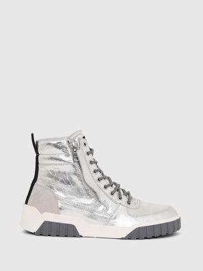 S-RUA MID W, Silver - Sneakers