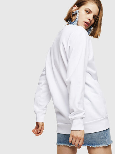 Diesel - F-GIR-DIVISION-FL, White - Sweaters - Image 2