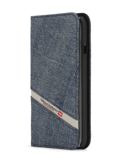 Diesel - DENIM IPHONE 8 PLUS/7 PLUS FOLIO,  - Flip covers - Image 2