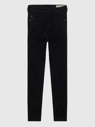 Diesel - Slandy High A69EF, Black/Dark grey - Jeans - Image 1