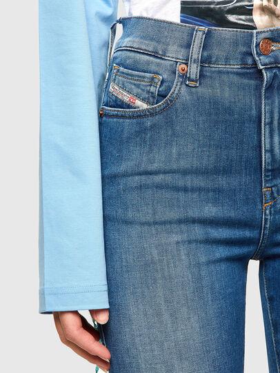 Diesel - D-Roisin High 009PE, Medium blue - Jeans - Image 3