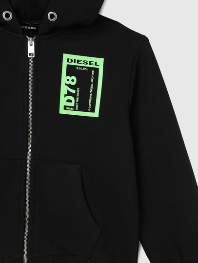 Diesel - SFULLZIP78 OVER, Black - Sweaters - Image 3