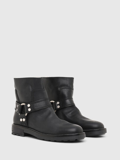 Diesel - D-THROUPER AB W, Black - Ankle Boots - Image 2