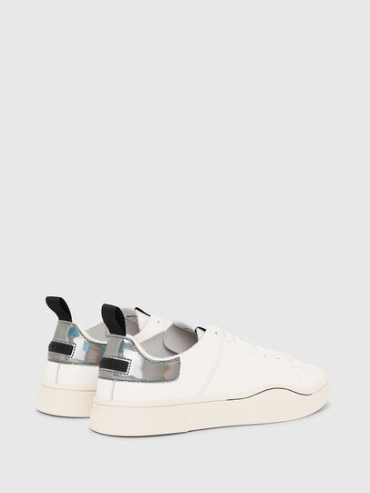 Diesel - S-CLEVER LS W, White/Grey - Sneakers - Image 3
