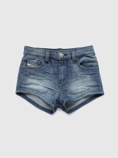 Diesel - PGINGHER JOGGJEANS, Medium blue - Shorts - Image 1