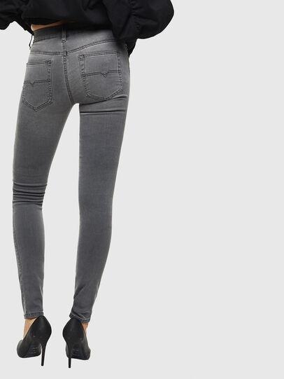 Diesel - D-Roisin 069JN, Light Grey - Jeans - Image 2