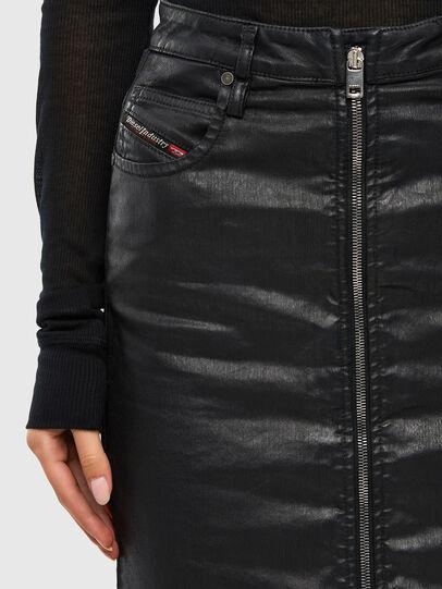 Diesel - D-ELBEE JOGGJEANS, Black - Skirts - Image 4