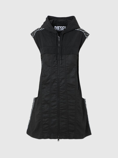 Diesel - D-JANA JOGGJEANS, Black/Dark grey - Dresses - Image 6