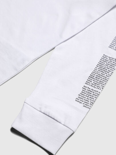 Diesel - TJUSTLS-NEW, White - T-shirts and Tops - Image 4
