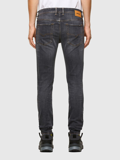 Diesel - Sleenker 009DJ, Black/Dark grey - Jeans - Image 2