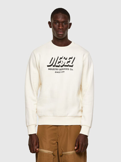 Diesel - S-GIRK-A74, White - Sweaters - Image 1