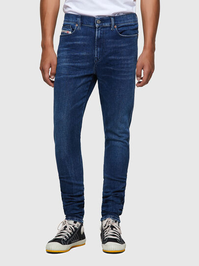 Diesel - D-Istort 009ZX, Dark Blue - Jeans - Image 1