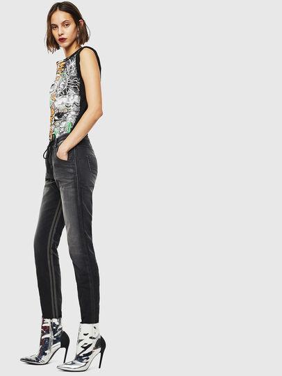 Diesel - Krailey JoggJeans 0094Q, Black/Dark grey - Jeans - Image 5