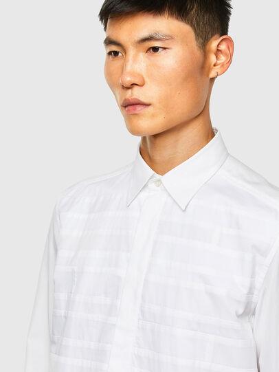 Diesel - S-WEIR, White - Shirts - Image 3