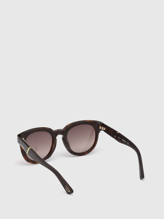 Diesel - DL0230, Brown/Black - Eyewear - Image 2