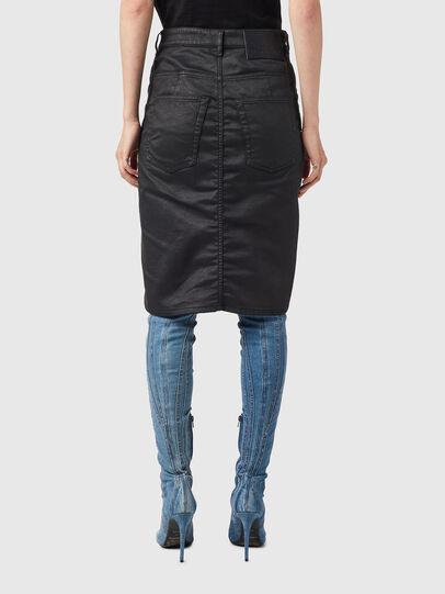 Diesel - D-PAU-SP JOGGJEANS, Black - Skirts - Image 2
