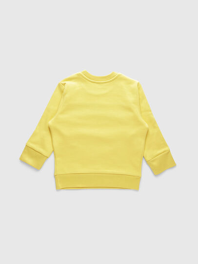 Diesel - SCREWDIVISIONB-R, Yellow - Sweaters - Image 2