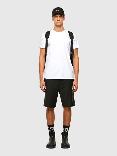 Diesel - P-RUST-SHO, Black - Shorts - Image 5
