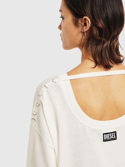 Diesel - M-PERLA-A, White - Knitwear - Image 7