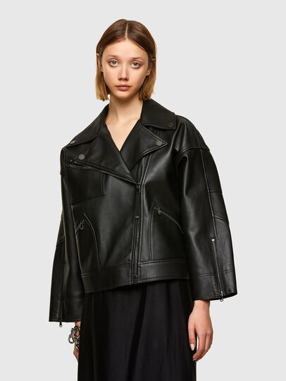 Diesel - L-HAZEL,  - Leather jackets - Image 1