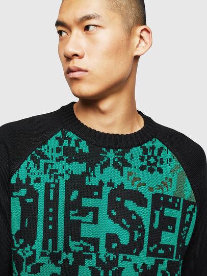 Diesel - K-CV-XMAX, Black - Knitwear - Image 3